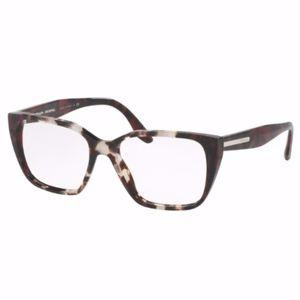Red Tortious Prada Eyeglass Frames